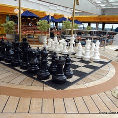 Boston, Massachusetts - Giant Chess Set