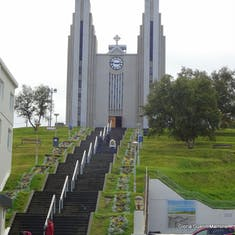 Church at the Top of the Hill - Akureyri