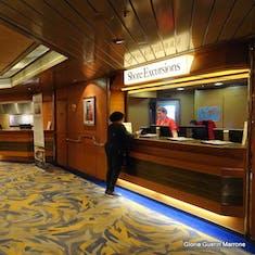 Shore Excursion  & Front Desks - Deck 5