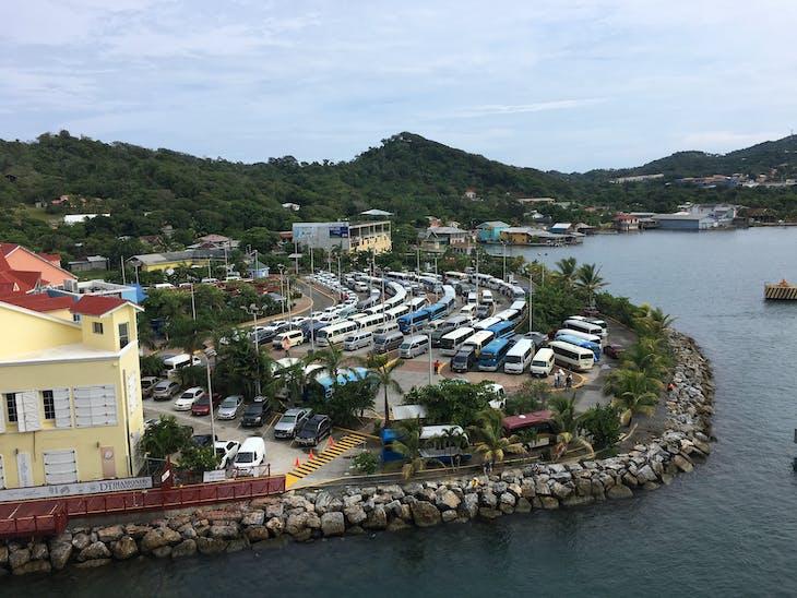 Coxen Hole, Roatan, Bay Islands, Honduras - September 30, 2017