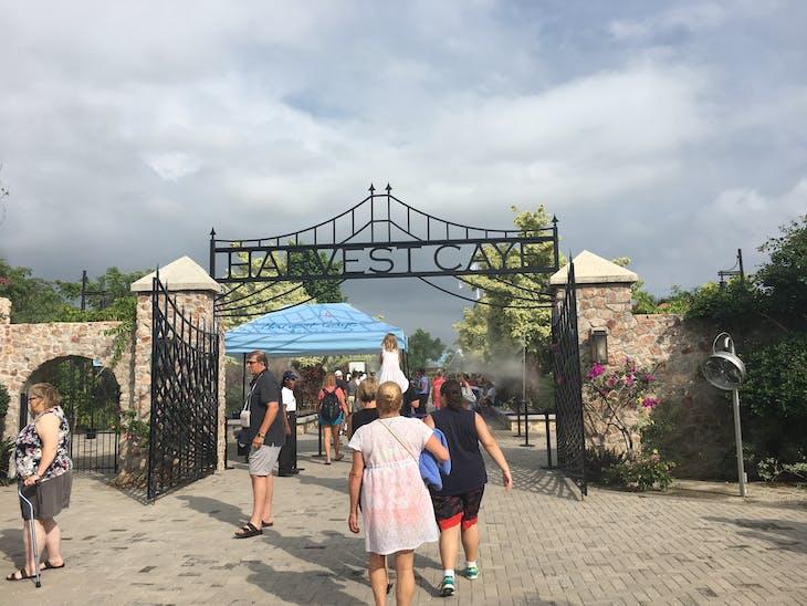 Harvest Caye, Belize - September 30, 2017