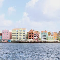 Willemstad, Curacao - The classic Curaçao photo - brightly colored buildings in town