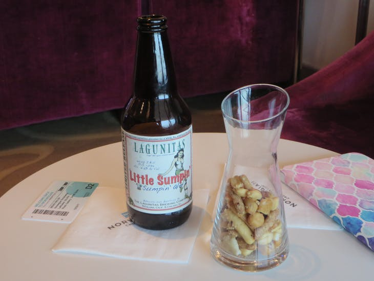 Best beer on the ship - Norwegian Breakaway