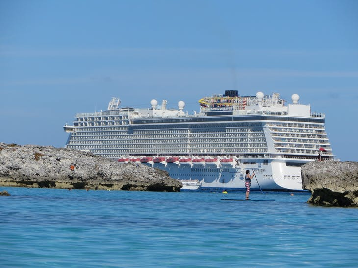 Great Stirrup Cay (Cruise Line Private Island), Bahamas - December 15, 2017