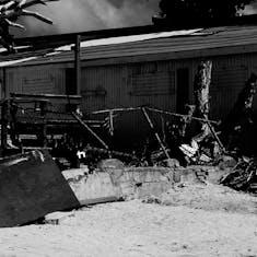 Philipsburg, St. Maarten - destuction yet to be repaired