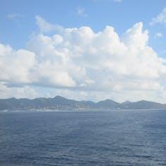 Philipsburg, St. Maarten - Approaching St. Maarten