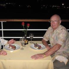 Balcony dinner