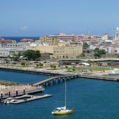 San Juan, Puerto Rico - View of San Juan from the ship