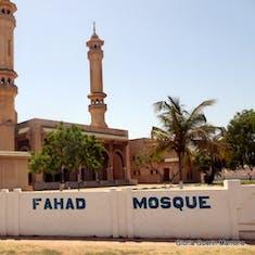 Dakar, Senegal - King Fahad Mosque