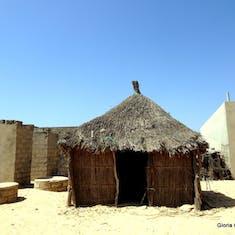 Dakar, Senegal - Fulani Village in the bush - very primative