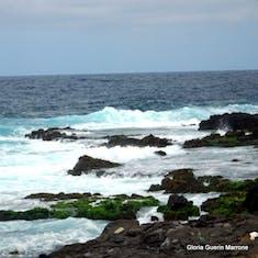 Praia, Santiago, Cape Verde - Beautiful coastline of Santiago, Cape Verde