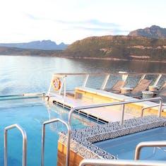 Tromso, Norway - Infinity pool