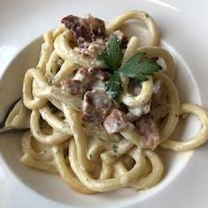 Freshly-made pasta from Manfredi's