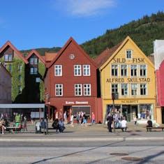 Bergen, Norway - Bryggen