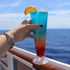 San Juan, Puerto Rico - Purple Rain drink