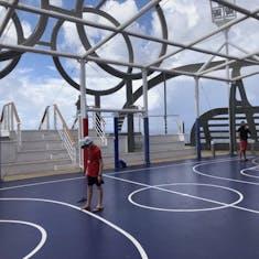 Nassau, Bahamas - Basketball court
