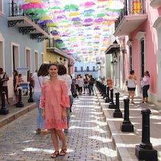 San Juan, Puerto Rico - Umbrella installation