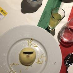 Philipsburg, St. Maarten - Lemon dessert and Limoncello on Italian night