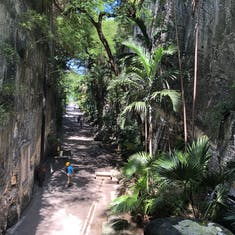 Nassau, Bahamas - view from Queen's Staircase