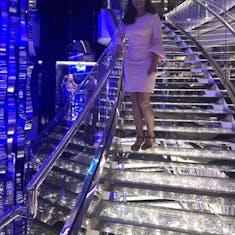 Nassau, Bahamas - Swarovski crystal staircases
