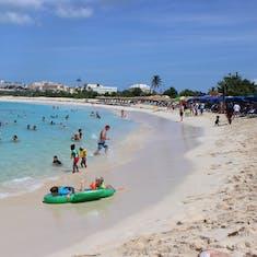 Philipsburg, St. Maarten - Mullet Bay Beach