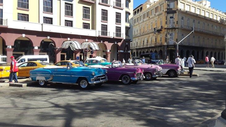HAVANA, CUBA - Cars, cars, and more cars!