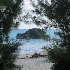 King's Wharf, Bermuda - One of many coves and beaches