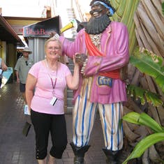 George Town, Grand Cayman - Thar be pirates in the Caribbean
