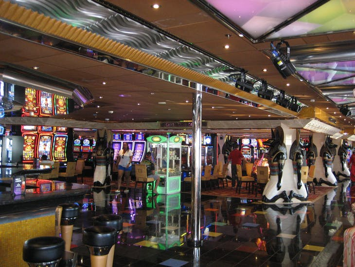 Time to play some slots - Carnival Glory