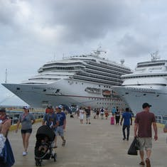 Cozumel, Mexico - Paradise & Glory be sure to get back on the right ship