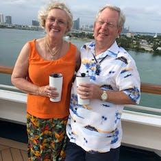 Miami, Florida - Sail away