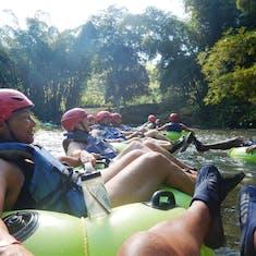 Tubing on White River in Ocho Rios