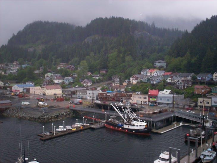 Ketchikan, Alaska - Entering port