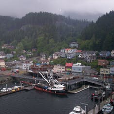 Ketchikan, Alaska - Entering port