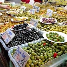 Olives & more olives.