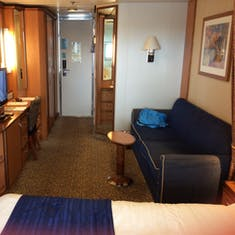 Room 9658... balcony cabin on back of the ship.