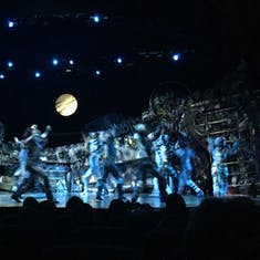 """The Broadway show """"Cats"""" what a fantastic show this was"""