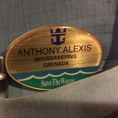 I can't remember your name, oh yeah,  it's Anthony Alexis