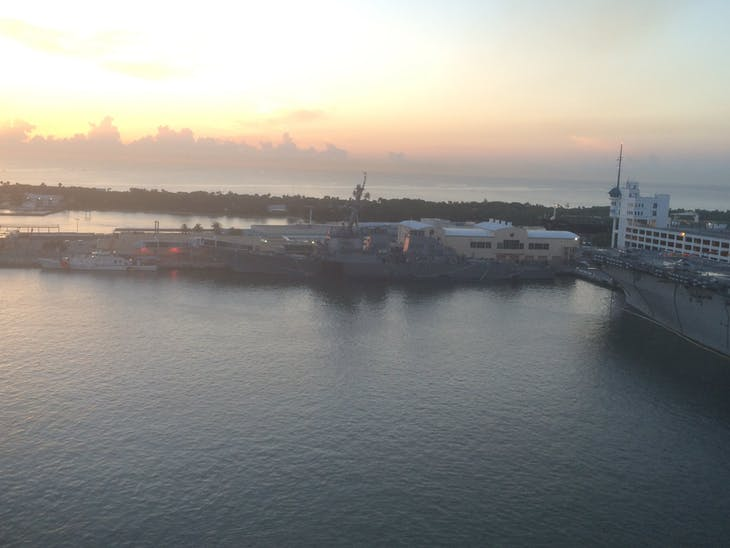 Ft. Lauderdale (Port Everglades), Florida - USS Cole Docked across from us on return to port