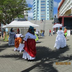 Fort-De-France, Martinique - Beautiful dancers