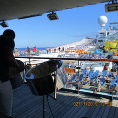 Steel Drums on the Open decks