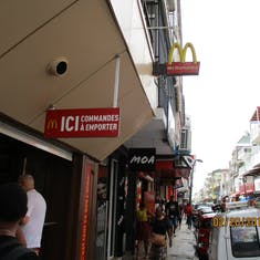 Pointe-A-Pitre, Guadeloupe - McDonalds is everywhere