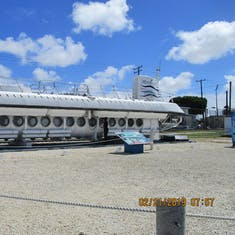 Bridgetown, Barbados - Static view of Atlantis Sub