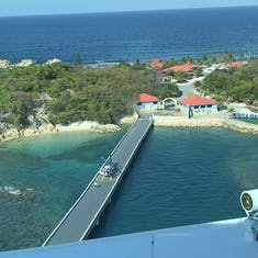 Labadee (Cruise Line Private Island) - View from room