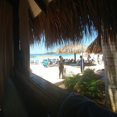View from Cabana