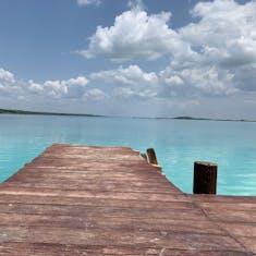 Costa Maya (Mahahual), Mexico - 7 Colors Lagoon