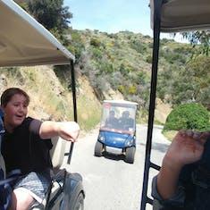 Golf Carting in Catalina