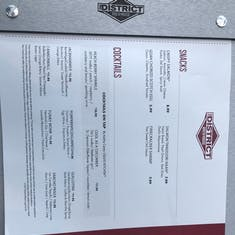 Page 1 of 3 District Brew House Menu