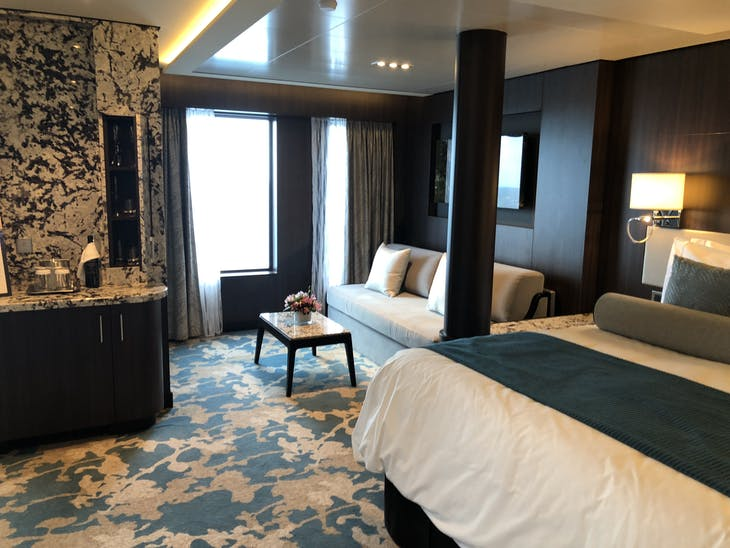 One of The Haven cabins - Norwegian Joy