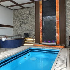 The Haven courtyard pool